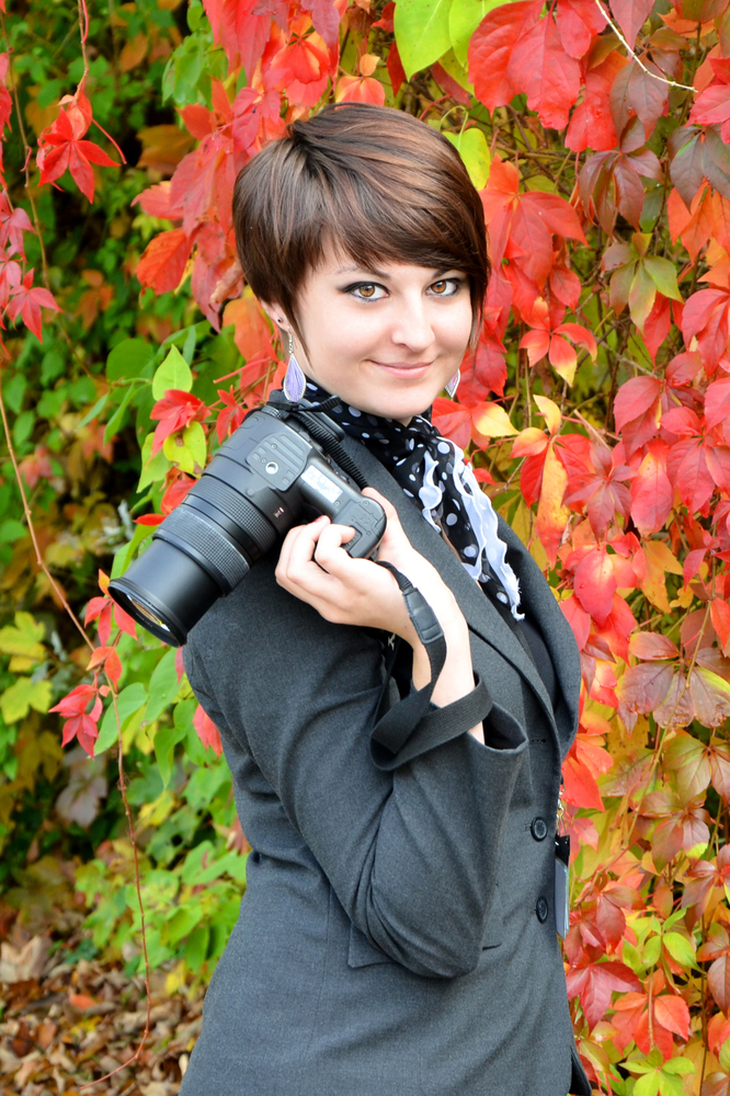 Miriam Brenke, Fotografin und Mediengestalterin